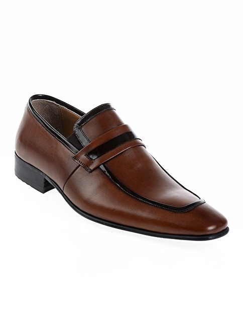 Derigo %100 Deri Klasik Ayakkabı Taba